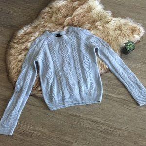 H&M Light Blue Spring Sweater